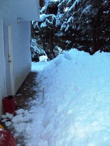 Snow Build-up