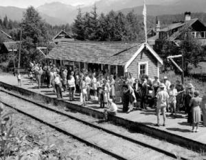 Train Station Whistler